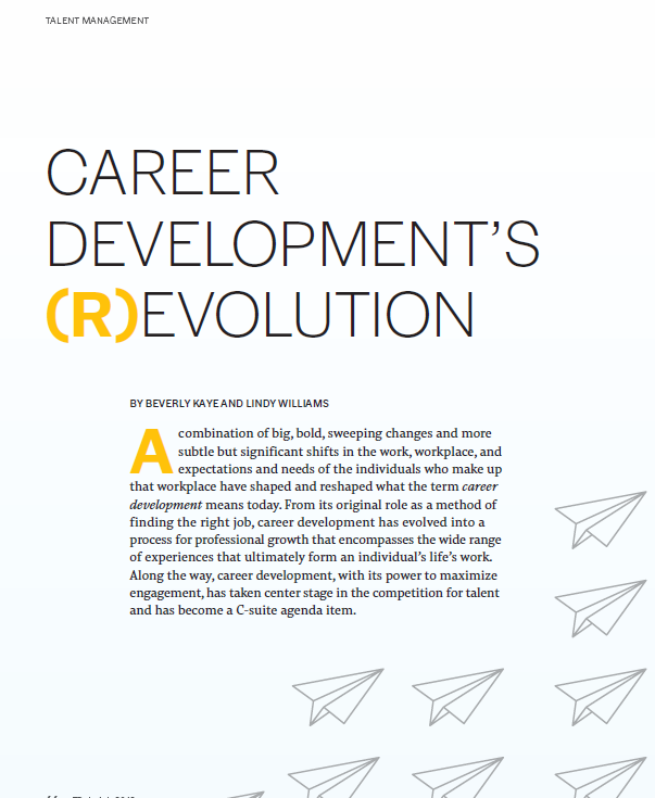 Career Development Revolution
